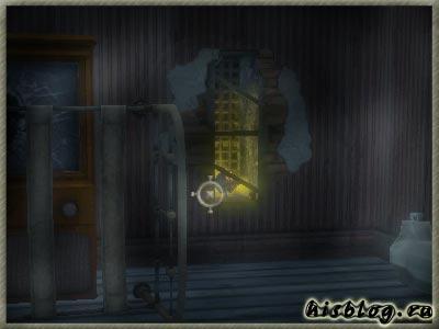 Тоник в стене комнаты номер семь