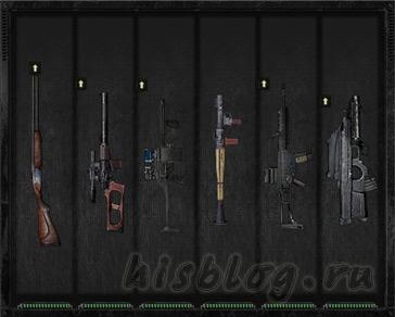 Небольшая коллекция лучшего моего оружия